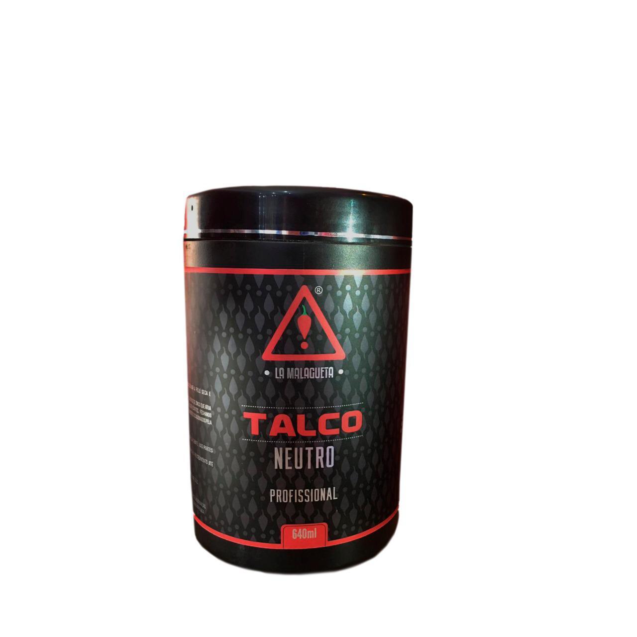 Talco 640g Neutro