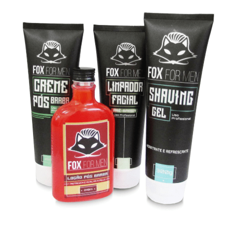 Kit Para Barba Fox For Men