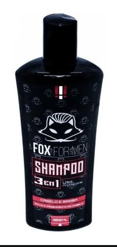 Shampoo 3 em 1 - 300ML