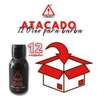 ÓLEO PARA BARBA 60ML - 12 UNIDADES
