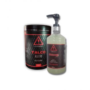 Shaving Gel e Talco Profissional 640g