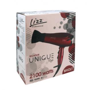 Secador Cabelo - Unique - Black e Red