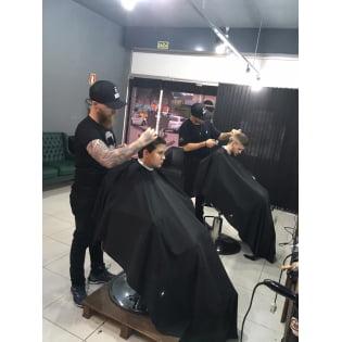 Capa de barbearia - preta